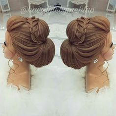 Likes, 35 Comments - Professional Hairstylist ) ( o. - - Likes, 35 Comments - Professional Hairstylist ) ( o - Formal Hairstyles, Up Hairstyles, Wedding Hairstyles, Wedding Hair And Makeup, Hair Makeup, Bridal Hair Inspiration, Hair Up Styles, Prom Hair Updo, Pinterest Hair