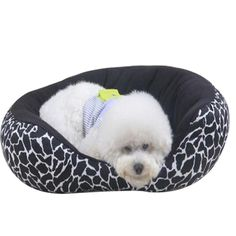 Leopard Round Pet Bed Removable and Washable Pet Dog Cat Bed Cushion ** You can get more details here (This is an amazon affiliate link. I may earn commission from it)