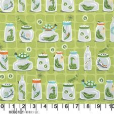 Michael Miller Backyard Back Yard Baby Fabric Bugs in Jars Butterfly Snake Green Contemporary Fabric, Modern Fabric, Retro Fabric, Vintage Fabrics, Fabric Design, Pattern Design, Baby Bug, Baby Fabric, Michael Miller Fabric