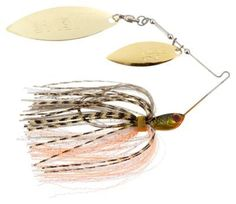 Stanley Jigs Wedge Plus Spinnerbait - 3/8 oz. - Gold Bream/Orange
