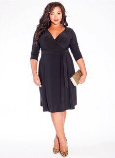 Dominique Dress in Black