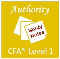 CFA Level I Authority – a comprehensive training program to help you pass the CFA Level I exam in the most efficient way.
