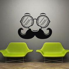 Wall Decal Decor Decals Art Mustache Glasses Nose Face Funny Movie Film Hipster (M522) DecorWallDecals http://www.amazon.com/dp/B00G0MHJ3S/ref=cm_sw_r_pi_dp_Hqq1ub0DKB0M2