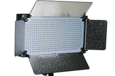 Amazon.com : ePhotoInc Portable 500 LED Light Panel Photo Video Studio Portrait Dimmer Lighting Panel VL500SD : Camera & Photo