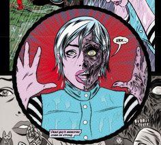 I Zombie Comic | Zombie from Vertigo