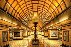 art deco underground stations