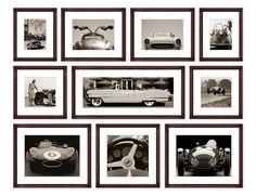 TROWBRIDGE Gallery - Sepia Car Collection (Link: http://www.trowbridgegallery.com/display-set.php?SetCode=SECC)