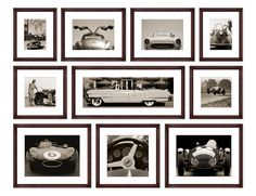 TROWBRIDGE Gallery - Sepia Car Collection (Link: http://www.trowbridgegallery.com/display-set.php?SetCode=SECC)