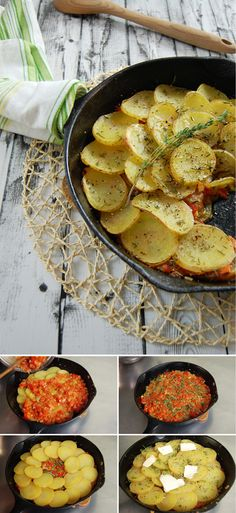 Check out 21 Savory Cast Iron Skillet Dinner Recipes at https://pioneersettler.com/savory-cast-iron-skillet-dinner-recipes/
