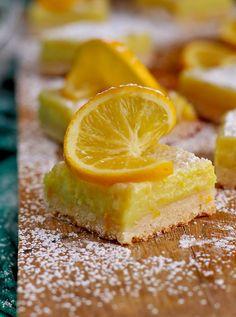 Super Easy Vegan Lemon Bars
