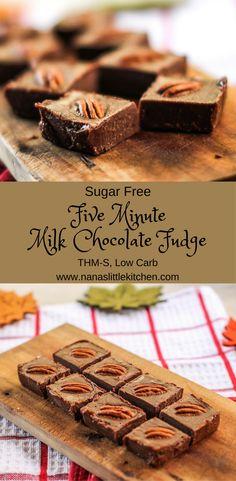 Five Minute Milk Chocolate Fudge