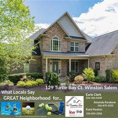 turtlebay Turtle Bay, Winston Salem, Tool Design, The Neighbourhood, Home Goods, Cabin, Homes, Mansions, World