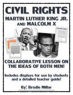 malcom x & martin luther king jr compare & contrast essay Biographycom profiles malcolm x, african american leader and prominent figure in the nation of islam, who articulated concepts of black pride in the 1960s.