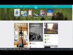 """Erklärvideo zur Erstellung von Grafiken mit Canva. Beschreibung im Artikel """"Meine Programmempfehlungen"""" auf http://www.tipptrick.com/2014/05/19/claudias-praktischer-ratgeber-programmempfehlungen/"""