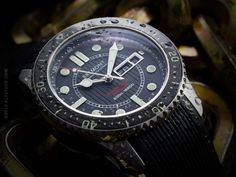 2012 Bremont North Sea Supermarine 500, ltd.ed. This is Bremonts first 'non military special project', pre-authorized to North Sea diving personnel only. So, the only way to get your hands on one (unless do actually are a North Sea diver) is through the second hand market. Well, they're sold out, so that would have been the only way, anyway... I'm not traditionally a diver fan, but I'd really love to get my hands on one of these beauties.