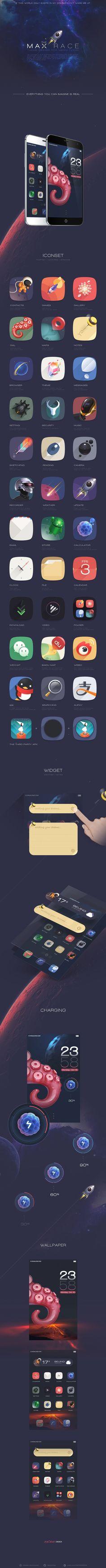 Beautiful case study on icons and UI… Game Ui Design, Ux Design, Icon Design, Creative Design, Application Design, Mobile Application, Material Design, Conception D'applications, Applications Mobiles