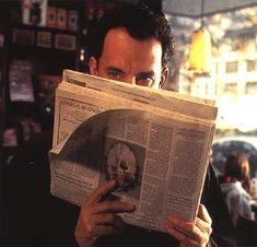 Tom Hanks - You've Got Mail.  Remember this scene?