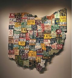 Would be a cool group art project for my students in the shape of the state I teach in.