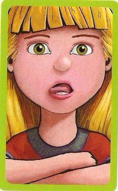 Παιχνίδι μίμησης με εκφράσεις προσώπου Στόχος του παιχνιδιού είναι να καταφέρετε να μιμηθείτε τις εκφράσεις των προσώπων που βλέπετε στις κάρτες. Μπορείτε απλά να παίρνετε μια κάρτα και να κάνετε τις κινήσεις μίμησης μπροστά από έναν καθρέφτη ή μπορείτε να εντάξετε τις κάρτες σ' ένα δικό σας παιχνίδι που θα δημιουργήσετε μαζί με το παιδί. … Oral Motor Activities, Speech Therapy Activities, Speech Language Therapy, Speech And Language, Activities For Kids, Apraxia, Sequencing Pictures, I Am Special, Action Pictures