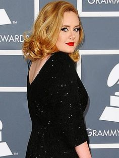 loving this look from Adele!