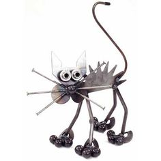 Mini Scaredy Cat Sculpture Yardbirds Richard Kolb $70.00