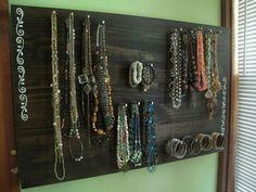 DIY Jewelry Board #DIY