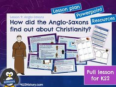 A full lesson for about Anglo-Saxon religion, including a detailed lesson plan, Powerpoint and pupil resource sheets. How did the Anglo-Saxons find out. Primary History, Primary Resources, Teaching History, Teaching Activities, Teaching Resources, Teaching Ideas, Christian Missionary, Anglo Saxon, Vocabulary