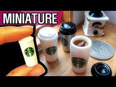 how to: miniature Starbucks tumbler