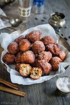 Spiced Banana and Coconut Fritters | The Gastronomic Bong