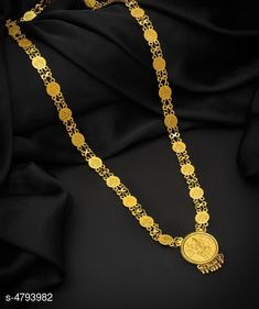 Checkout this latest Necklaces & Chains Product Name: *Women's Brass Gold Plated Necklaces & Chains* Sizes:Free Size Country of Origin: India Easy Returns Available In Case Of Any Issue   Catalog Rating: ★4.1 (3143)  Catalog Name: Women's Brass Gold Plated Necklaces & Chains CatalogID_698544 C77-SC1092 Code: 451-4793982-972