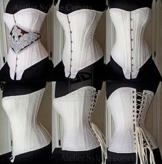 Ref S antique corset pattern by ~AtelierSylpheCorsets