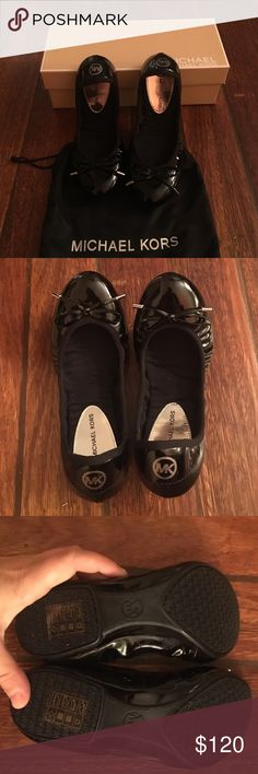 Micheal Kors City Ballet 6M Brand new with a box and a dust bag. No trades. I am open to offers. Michael Kors Shoes Flats & Loafers
