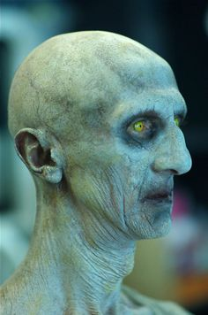 ArtStation - Polus concept from the BAFTA nominated BBC tv series 'The Fades', Greg Staples Horror Makeup, Scary Makeup, Fx Makeup, Zombie Halloween Makeup, Scary Halloween Costumes, Halloween Face, Zombies, Haunted House Makeup, Zombie Makeup Tutorials