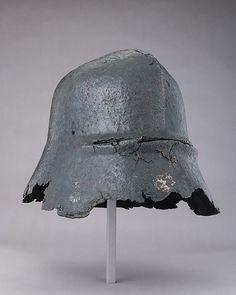 Sallet Date: ca. 1450 Culture: German Medium: Steel Dimensions: H. 9 1/2 in. (24.1 cm); W. 11 1/4 in. (28.6 cm); D. 13 1/4 in. (33.7 cm); Wt. 6 lb. 9 oz. (2984 g)