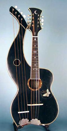 harp mandolin - this needs to be in my life...right now.