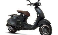 Giorgio Armani and Vespa release a limited edition scooter