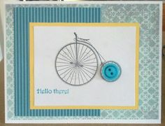 Stampin' Up! Epic Day and Timeless Talk. My own creation