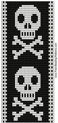 This is a loom pattern, but I'd die for it as a tile pattern in my bathroom!