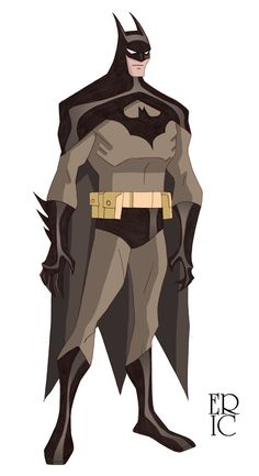 Batman Sketch Color by *EricGuzman on deviantART