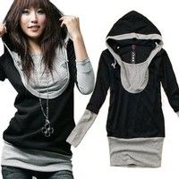 Full Description Size: Asian M (US S(4) ,UK 6, AU 8) DESCRIPTION: Type: Slim hoodie Sleeve: Long Ne