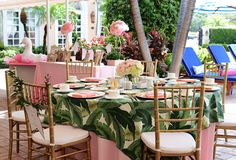I am a huge fan of the chic sisters of Palm Beach Lately, and I could not be more obsessed with the Palm Beach Chic baby shower that was recently hosted for Beth Aschenbach. The Colony Palm Beach was the perfect venue after its recent renovation with banana leaf wallpaper in the lobby, pink and white stripes in …