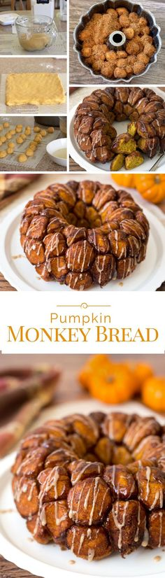 Monkey Bread, also known as Bubble Bread or Pull Apart Bread, is not only a sinfully delicious breakfast, its also fun to eat. This version is dressed up for the holidays with pumpkin, holiday spices and a luscious maple icing.