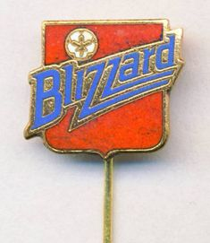 old TORONTO BLIZZARD pin BADGE from 1970´s NASL soccer CANADA football #TorontoBlizzard
