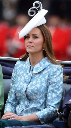 Kate Middleton at Trooping The Colour 2015