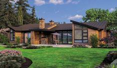 Single Story Contemporary House Plan - 69402AM thumb - 02