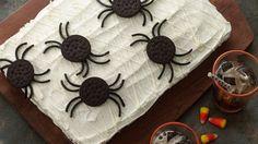 Spooky Spider Web Cake - Foodista.com
