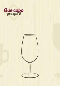 Taça degustação: o formato da taça segue o padrão ISO (International Standard Organization) que possibilita a adequada degustação de todos os tipos de vinhos. Com capacidade reduzida, boca estreita e haste mais curta, seu desenho favorece a oxigenação e a retenção dos aromas da bebida
