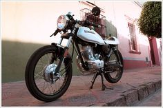 """CRQ Cycles' Honda CGL125 Ca"" in Cafe Racers"