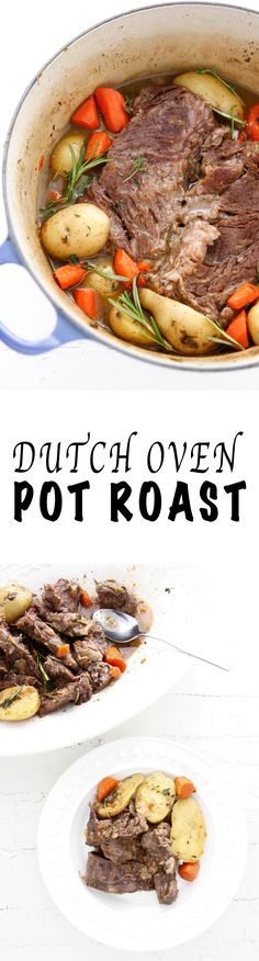 Dutch Oven Pot Roast via @thebrooklyncook