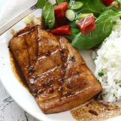 This is a low calorie Ginger Mahi Mahi, a fan favorite. All time favorite for fish lovers, you can't beat this delicious Mahi Mahi marinade!